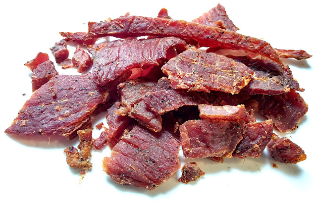 spicy pork jerky