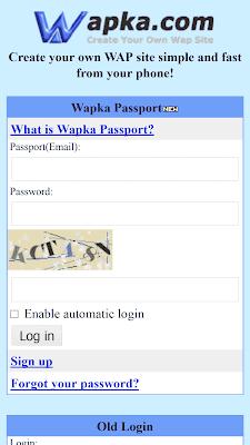 wapka homepage