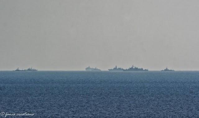 ΦΩΤΟ ντοκουμέντο: Το Oruc Reis ορατό με γυμνό μάτι από Ρόδο-Γέμισε πολεμικά πλοία η περιοχή