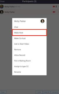 Cara Menjadi Host Zoom Meeting