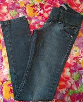 calça jeans Akiyoshi tamanho 16