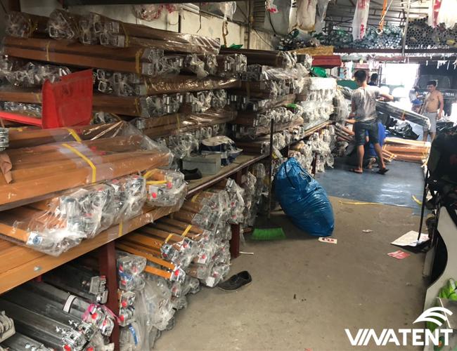 xưởng gia công bạt tại Hà Nội