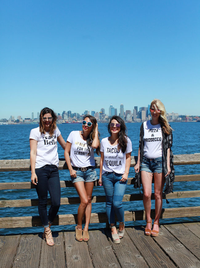 T&J Designs Graphic T Shirts, Seattle Bloggers, Girl Squad, Summer Tees, Style Steal Tees