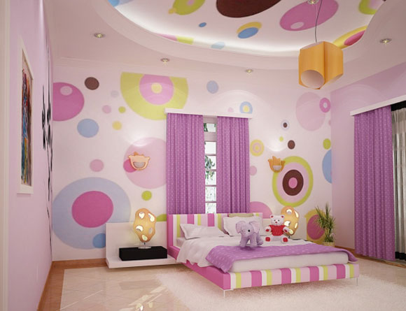 Girls Bedroom Painting Ideas Girl Bedroom Murals With Pink Color Painting Best Bedroom Design With Girls Bedroom Mural Polka Dot Room Kids Bedroom Paint