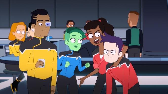 STAR TREK: LOWER DECKS: Un divertida comedia animada para fans de la saga y un poquito menos para los demas.