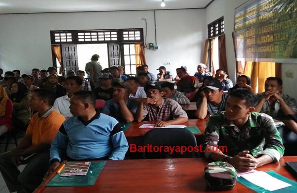 Distan Pulpis Sosialisasikan Program Serasi di Kahayan Kuala