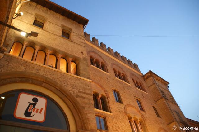 La facciata medievale del Palazzo del Podestà