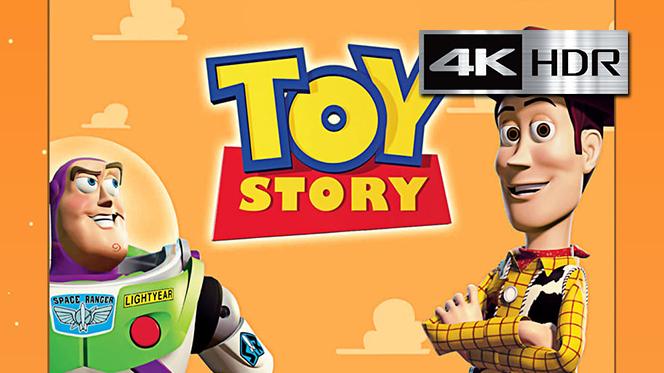 Toy Story (1995) 4K UHD [HDR] Latino-Castellano-Ingles