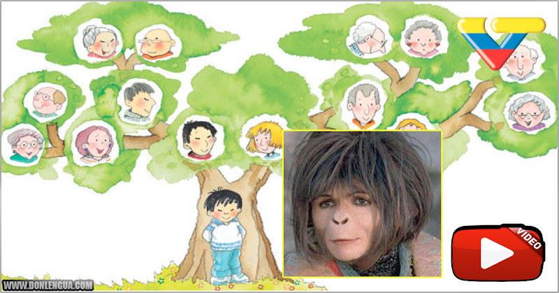 La extraña explicación que dio una maestra en VTV sobre el árbol genealógico