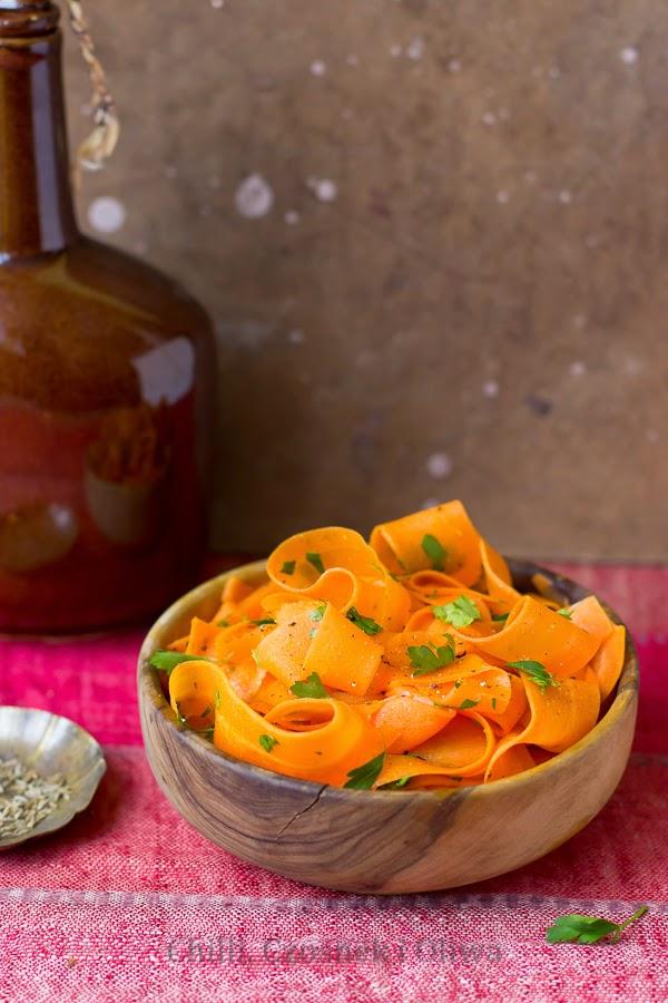 marokańska sałatka z marchewki