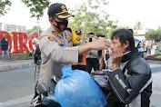 Kampanye Pakai Masker dan Jaga Jarak Serentak di Majalengka, Kapolres Ajak Masyarakat Patuhi Protokol Kesehatan