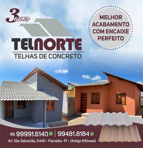 TELNORTE: TELHAS DE CONCRETO