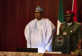 Buhari congratulates Lawan, Gbajabiamila after they emerge Senate President and Speaker respectively