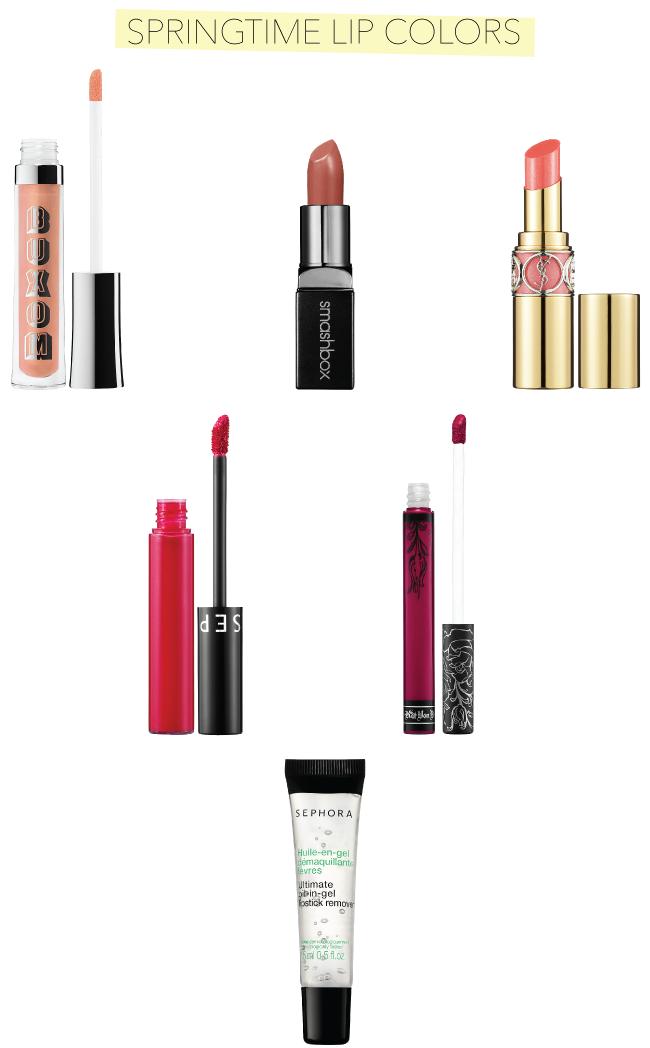 Springtime Lip Colors // A Style Caddy