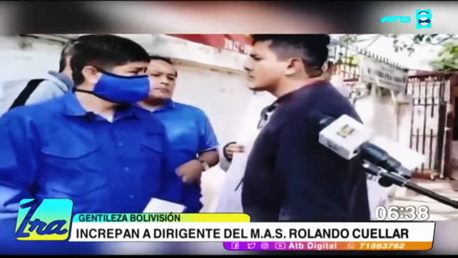 VIDEO: INCREPAN Y AGREDEN A DIRIGENTE DEL MAS EN SANTA CRUZ