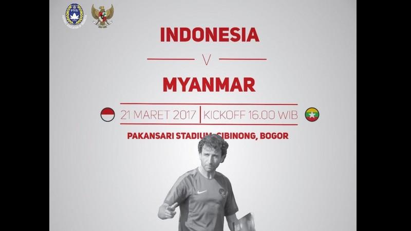 Jadwal Indonesia vs Myanmar