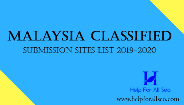 free classified submission sites list in malaysia