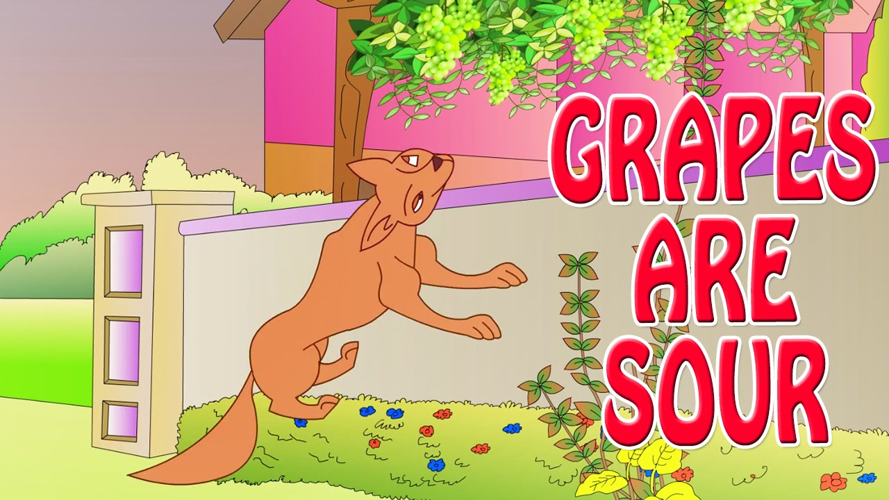 the fox and the sour grapes story