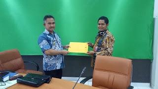 Wali Kota Tarakan Menerima Audiensi KPU Kota Tarakan dengan Gugus Tugas Percepatan Penanganan Covid-19 - Tarakan Info