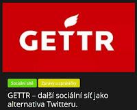 GETTR – další sociální síť jako alternativa Twitteru. - AzaNoviny