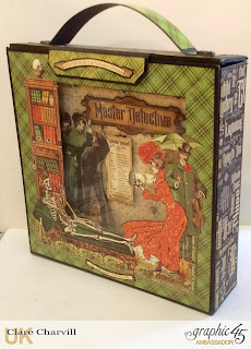 Master Detective Mini Album and Case 2 Clare Charvill Graphic 45