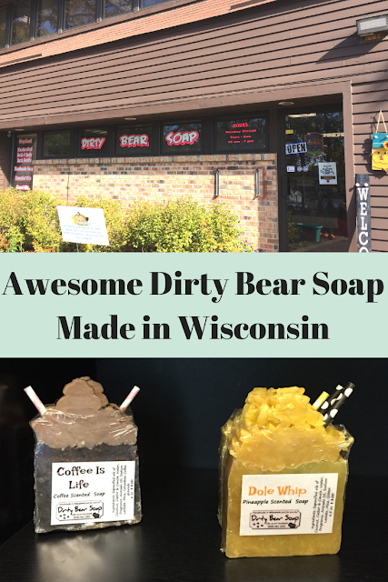 Exploring Locally Made Dirty Bear Soap in Beloit, Wisconsin