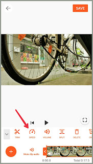 Speed icon Tutorial edit Video YouCut   Android  2021