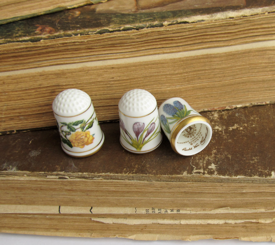 Thimbles Franklin Mint