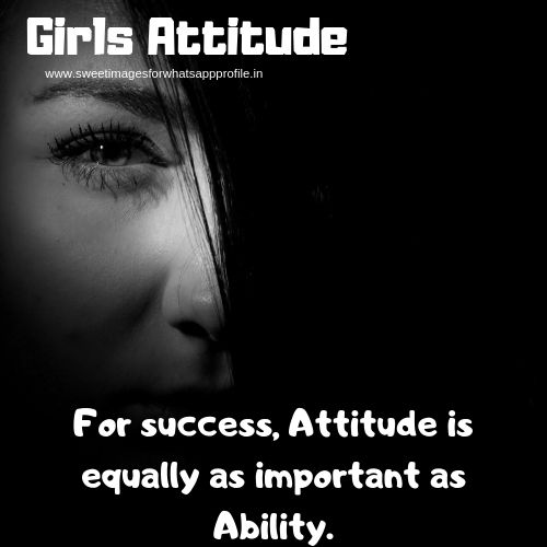 Best girls attitude images | Girls attitude captions | Girl attitude quotes
