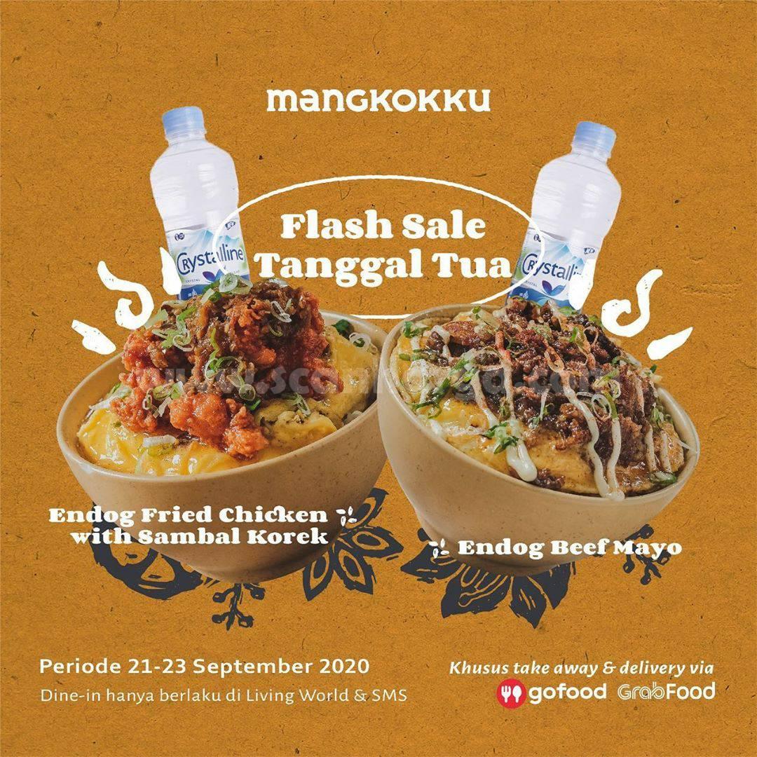 Promo MANGKOKKU Flash Sale Tanggal Tua