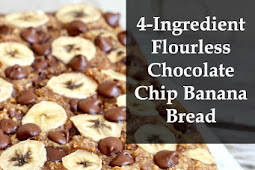 4-Ingredient Flourless Chocolate Chip Banana Bread Recipes
