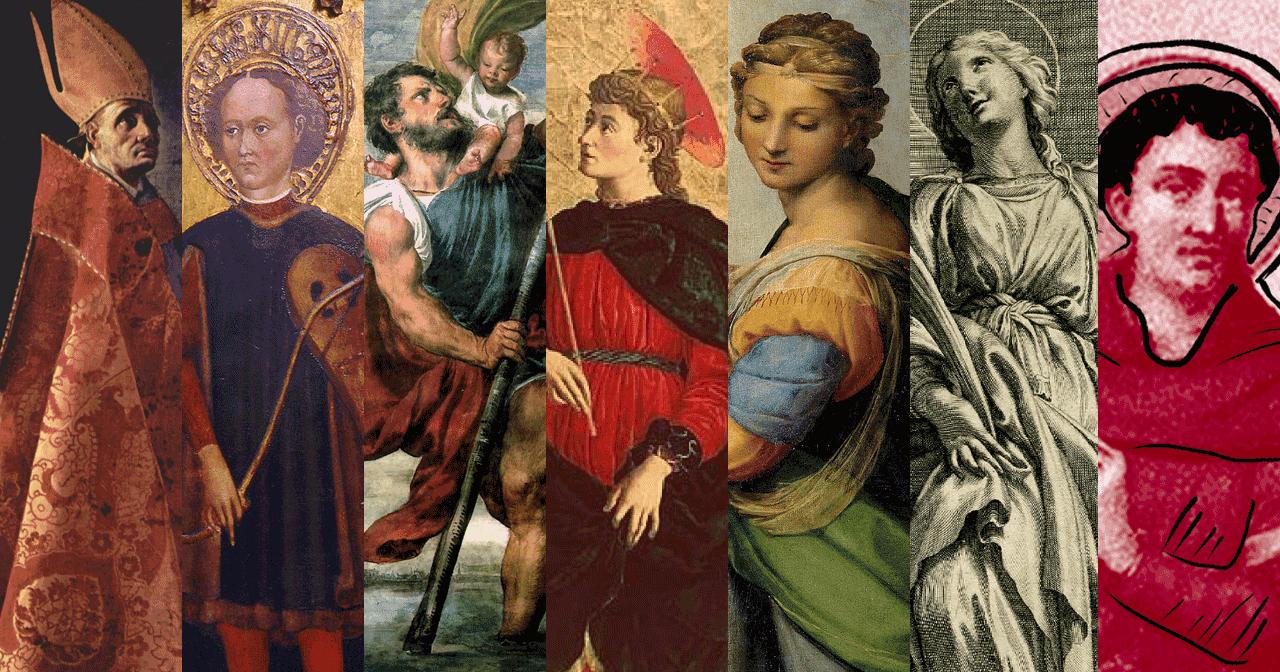 Orang kudus,Santo,santa,katolik