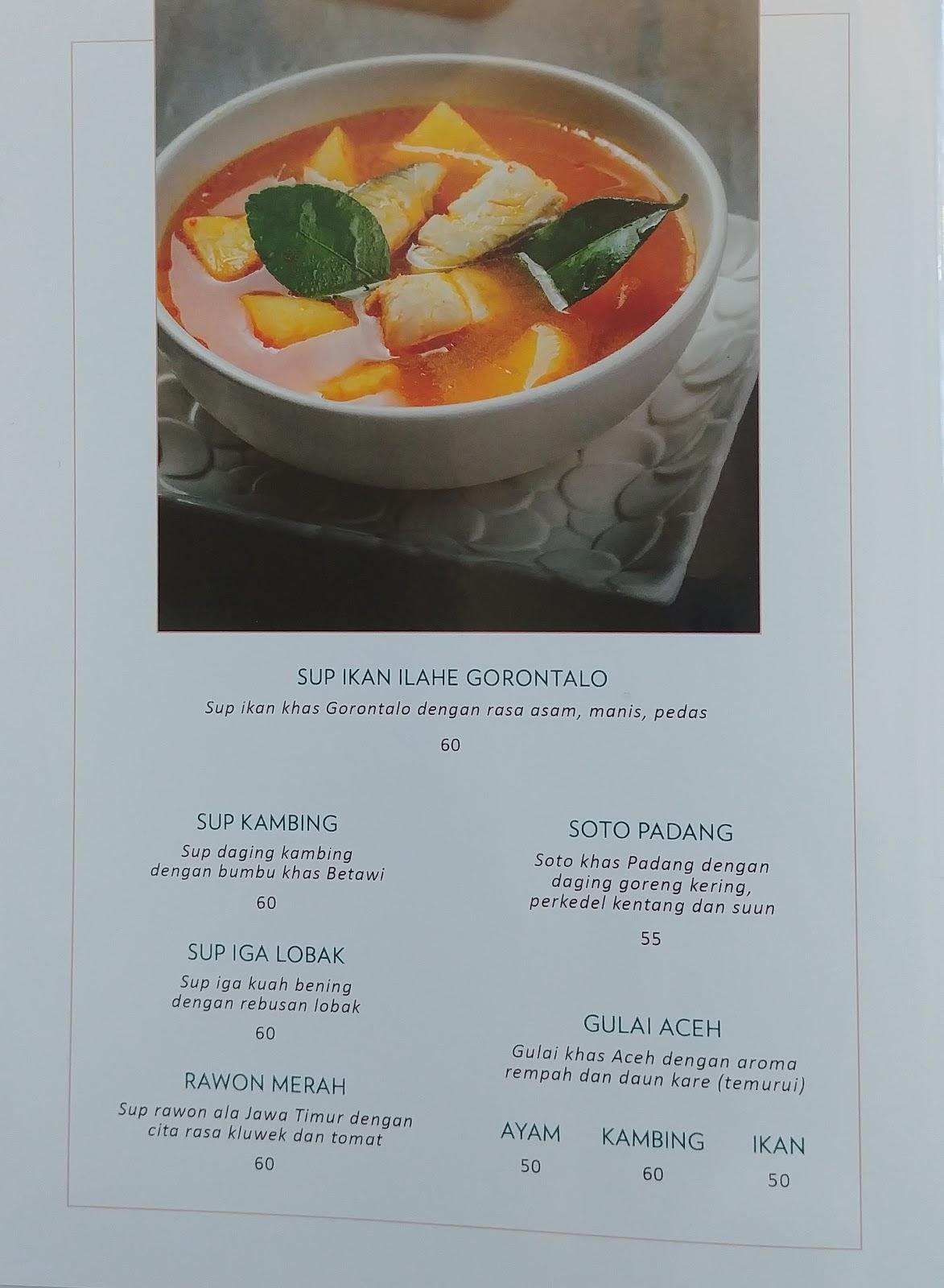 Daftar Harga Menu Cafe Ole Salatiga