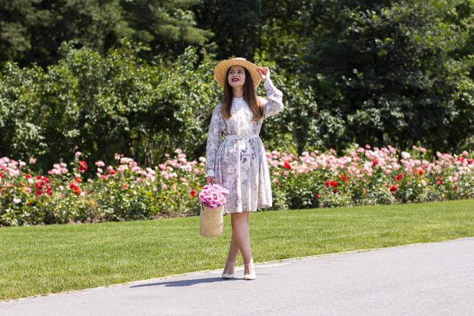 adina nanes midi summer dress