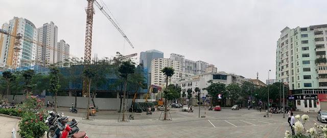 tiến độ xây dựng Harmony Square