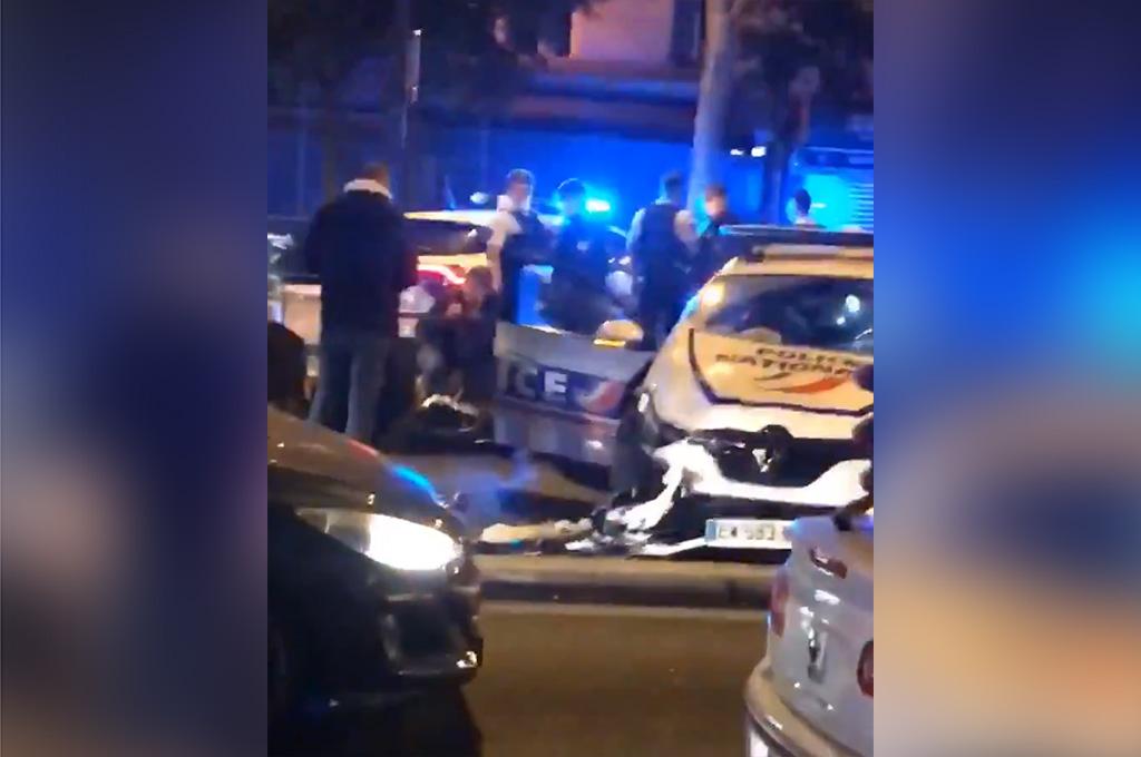 """Paris (XIXe) : Deux voitures de police se percutent violemment """"cinq policiers blessés dont trois grièvement"""""""