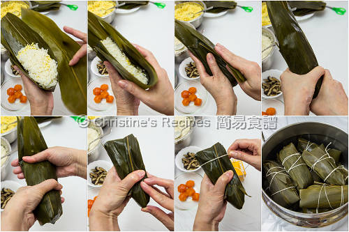 如何包糭子 How To Wrap Rice Dumplings02