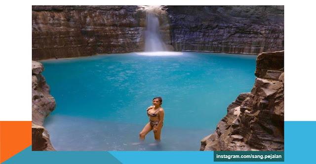 objek wisata air terjun waimarang sumba