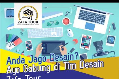 Lowongan Kerja Desain di Zafatour.com