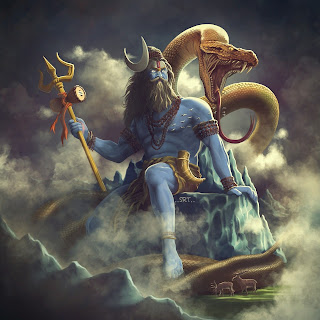 Mahadev With Snake Images