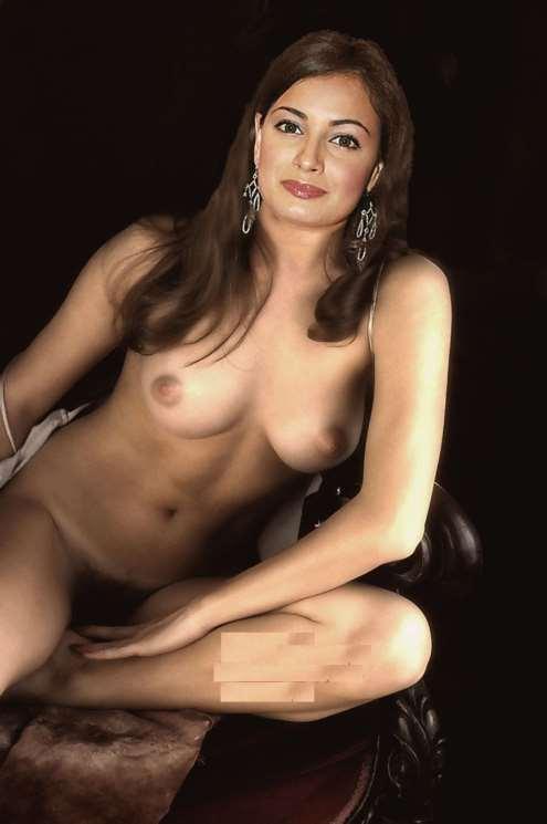 Dia Mirza Nude