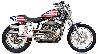 evel knievel sportster 1200 evolution tribute from deus