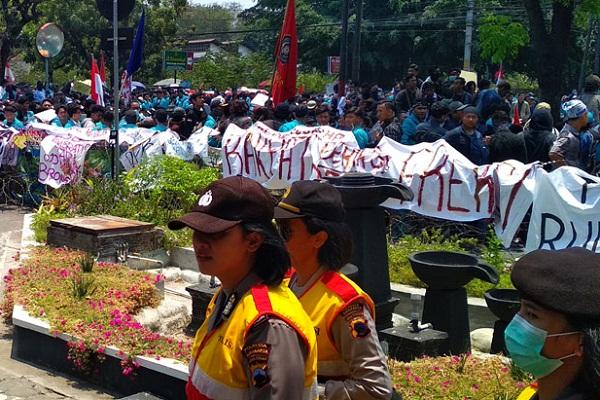 Mahasiswa Solo Bergerak, Sebut RUU Agraria Makin Mencekik Rakyat