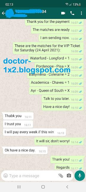 doctor1x2 ticket 24.04.2021