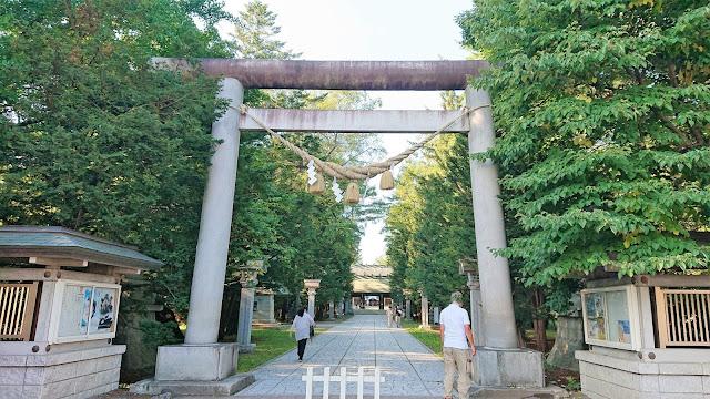 北海道 十勝 帯廣神社