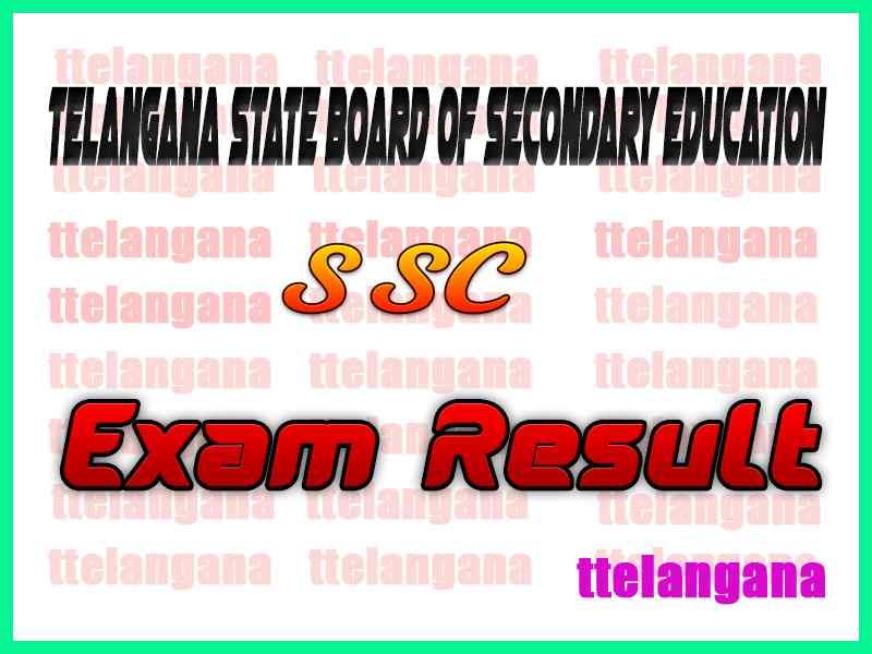 Telangana TS SSC 10th Class Results