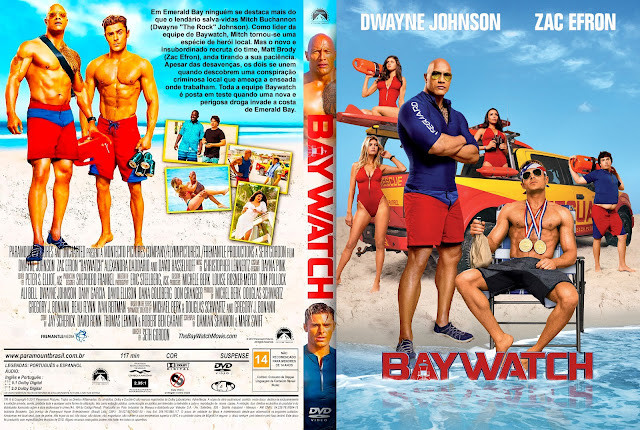 Capa DVD Baywatch [Exclusiva]
