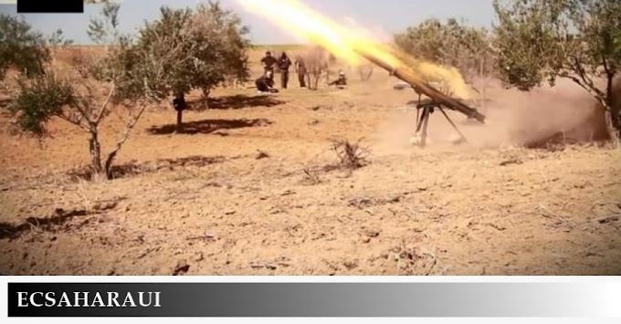 ⭕️ البلاغ العسكري 172 | الجيش الصحراوي يشن غارات جديدة على مواقع عسكرية مغربية خلف جدار العار.