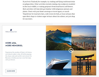 Travel ads ensure that we ll never get honest articles about travel.