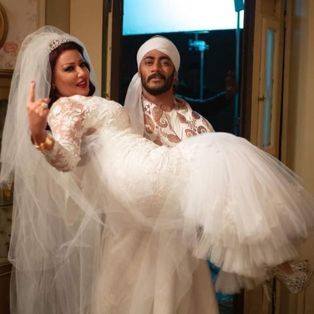 محمد رمضان يتجوز سمية الخشاب الليله في مسلسل موسي